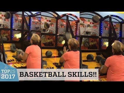 Grandma's Amazing Basketball Arcade Game Skills | Top 25 of 2017