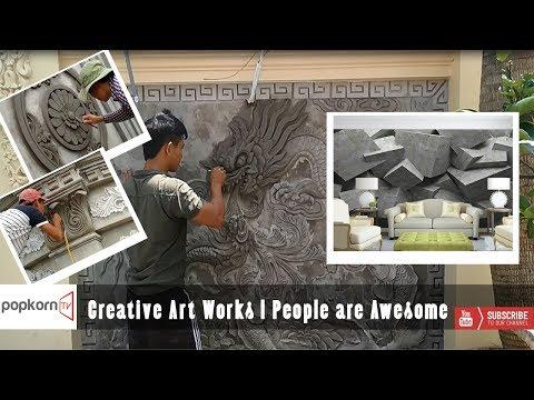 Creative Art Works | People are Awesome | Popkorn TV