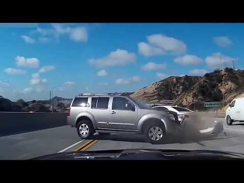 Car Crashes Compilation Russia/USA/Europe 2018 HD