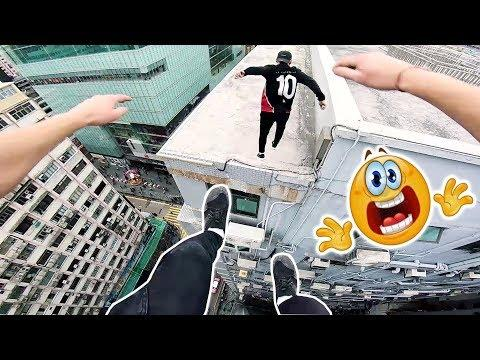 Incredible Parkour and Freerunning 2018 ???? PEOPLE ARE INSANE