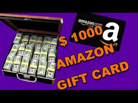 Get $1000 Card - (100% Working)