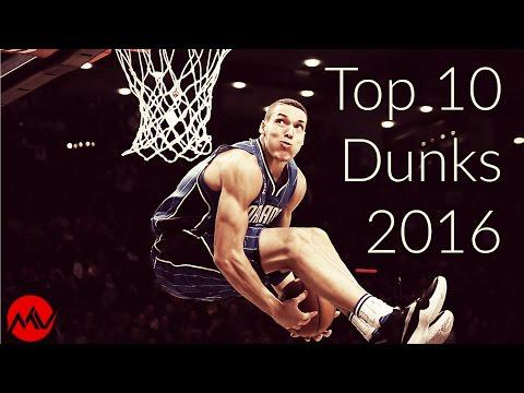 Top 10 Dunks 2016 NBA Dunk Contest