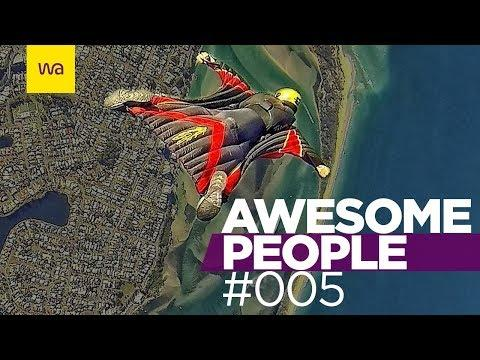 AWESOME PEOPLE 2017 │ Parkour | Freerunning | Stunts | COMPILATION #005