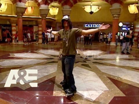 Criss Angel Mindfreak: Skateboard Jump To The Bellagio | A&E