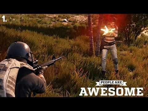 PUBG - People Are Awesome #1 Best Sniper Shots, Grenades, Plays