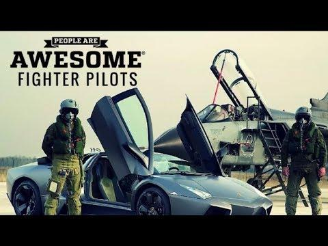 People are awesome.. Fighter pilot..