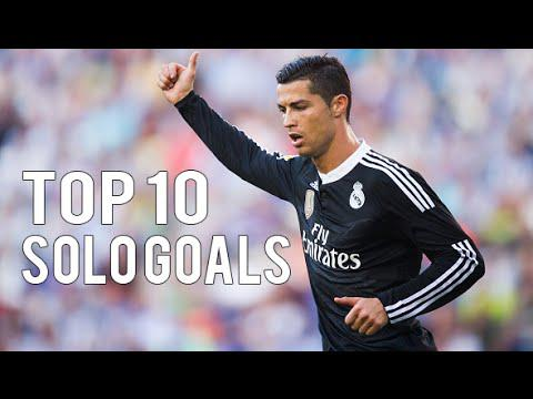 Cristiano Ronaldo ● TOP 10 Solo Goals Ever ● 2003-2015 HD