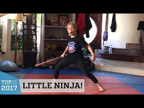 Extreme Martial Arts Kid's Bo Staff Tricks | Top 25 of 2017