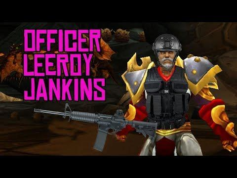 Officer Leeroy Jenkins, Texas DPS pilots are awesome, and tactical assault babies should be banned