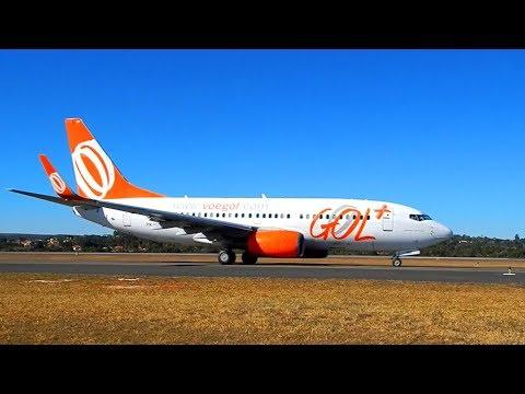 BOEING 737 700 TAKEOFF - GOL - PEOPLE ARE AWESOME - AIRPLANE PILOT