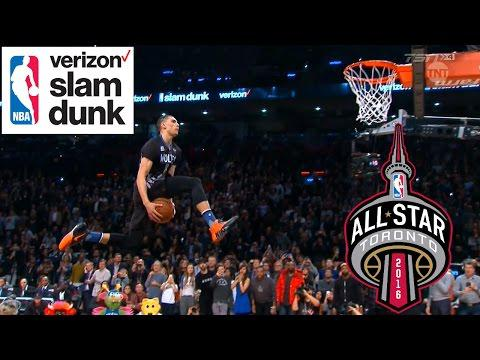 2016 NBA All-Star Weekend - Verizon Slam Dunk Contest - Full Highlights