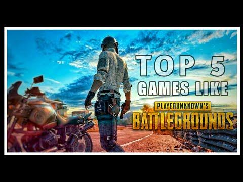 Top 5 Online Android Games Like PUBG | Top 5 Android Games Similar To PUBG