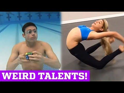 WEIRD TALENTS & STRANGE SKILLS!   PEOPLE ARE AWESOME