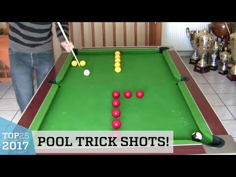 Outstanding Pool Trick Shots | Top 25 of 2017