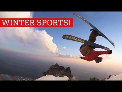 Winter Sports - People Are Awesome 2018