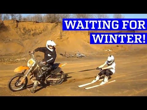 Waiting for Winter |  Skiing without Snow!
