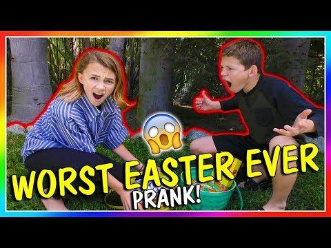 WORST EASTER EVER PRANK! | We Are The Davises