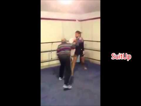 Old Man Kicks Young Guy Ass: (old Vs Young). MMA/boxing