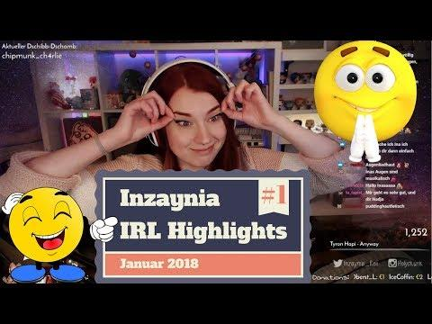 Twitch IRL Highlights #01 Best of Inzaynia Januar 2018