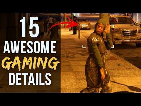 15 AWESOME Details in Video Games