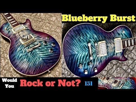 The PRIVATE STOCK DESTROYER! | Gibson Les Paul Blueberry Burst - Awesome Flame Top | WYRON 151