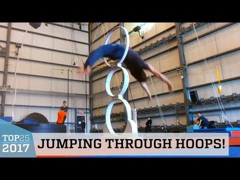Awesome Hoop Diving | Top 25 of 2017