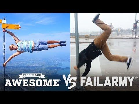 People are Awesome vs FailArmy!! 2018 part#1