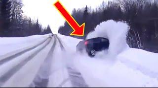 Mad Driving FAILS Compilation pt.14 ★ MARCH 2016 ★ ICE & SNOW Car Crashes ★ FailCity