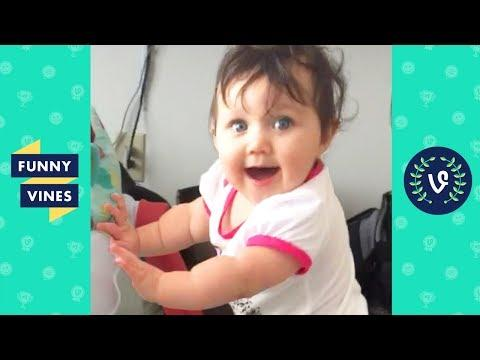 TRY NOT TO LAUGH - Funny Kids Fails & Babies | Funny Vines August 2018