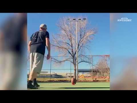 American Football Trickshots - People Are Awesome