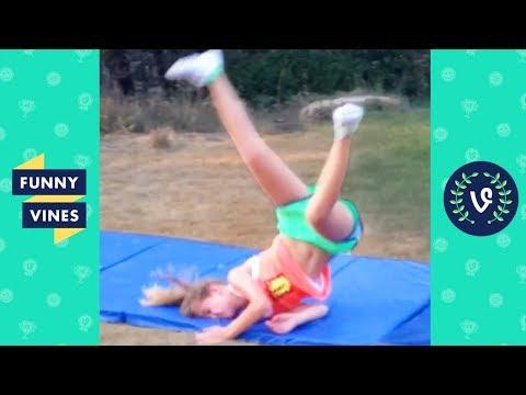 TRY NOT TO LAUGH - Epic GYMNASTICS Fails Compilation | Funny Vines August 2018