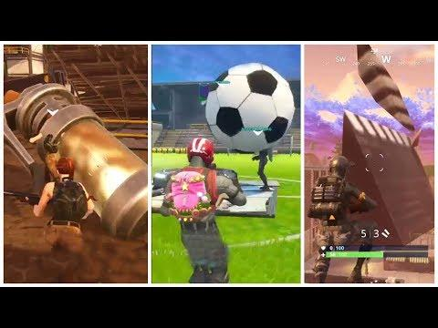 Giant Stink Bomb, Take 14, Soccer Ball  ► Fortnite Funny and WTF Moments Ep.85