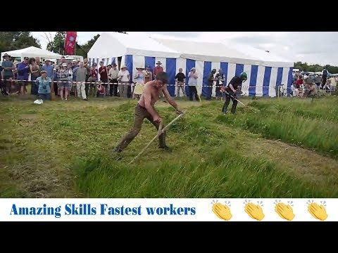 People Are Awesome or Insane 2017 ???? Amazing Skills Fastest workers in the world 1