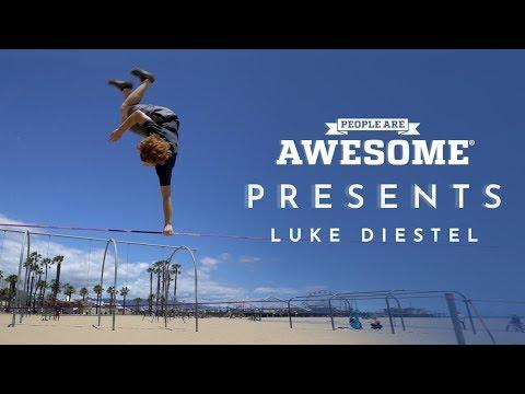 People Are Awesome Presents: Luke Diestel | Slackline