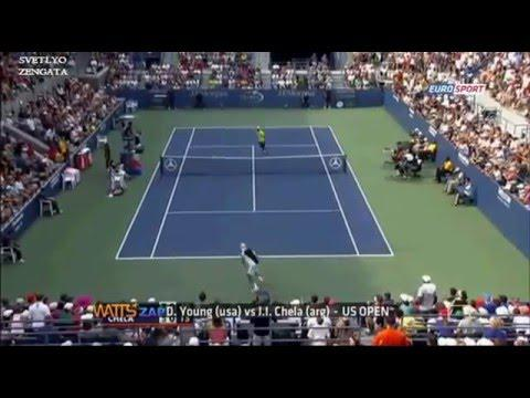 TOP 15 FUNNY AND AMAZING TENNIS MOMENTS  WATTS ZAP 2016