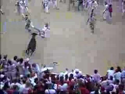 Pamplona Bull Run 2006