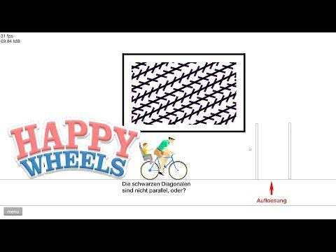 Optische Täuschungen! - Let's Play Happy Wheels #40