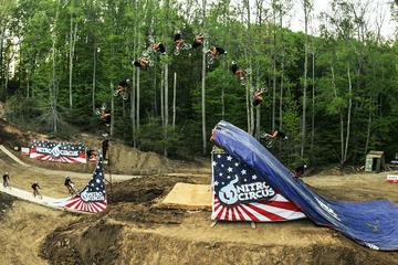 History Made! First Ever BMX Quad Backflip  Nitro Circus  Jed Mildon