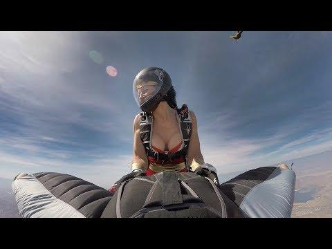 PEOPLE ARE AWESOME 2018 ????BEST OF F A S T Wingsuit ( MUST WATCH)