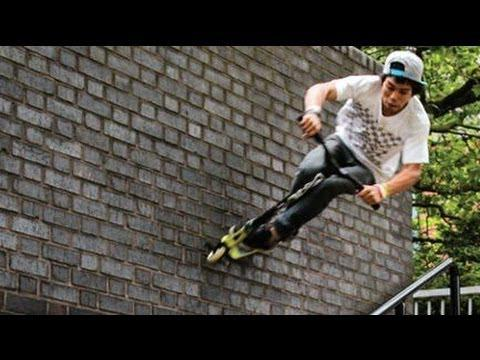 World's Best Street Scooter Tricks