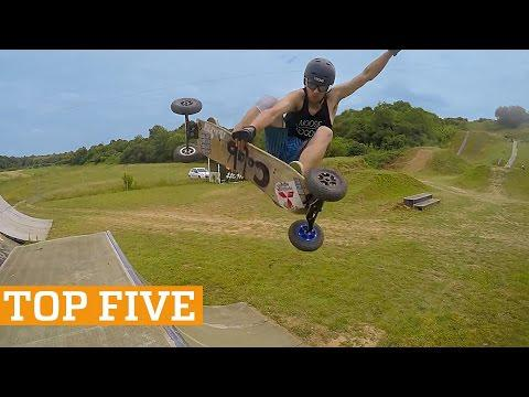TOP FIVE: Windsurfing, Mountain Boarding & Juggling   PEOPLE ARE AWESOME 2017