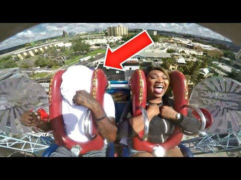 Slingshot Ride | Funny / Scared Couples Edition Compilation Part 16
