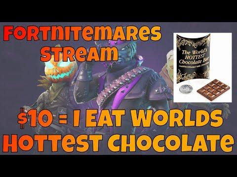 $10 = I Eat Worlds *HOTTEST CHOCOLATE* (Fortnite Battle Royale) | Repeats