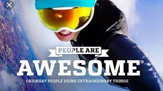 People are awesome compilation:Reaction