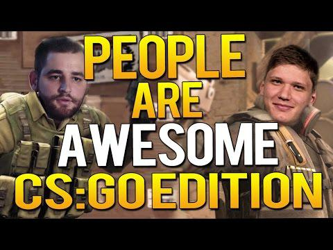PEOPLE ARE AWESOME - CS:GO EDITION 2017