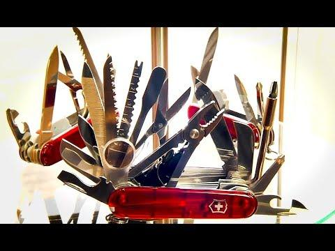 Coole Videos #374: Taschenmesser-Herstellung / How a Swiss Army Knife is made || ✪ Stern DuTube