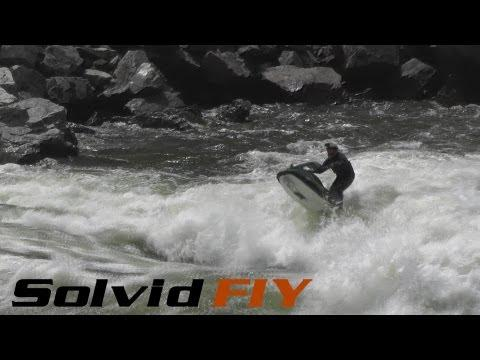 Extreme Whitewater Jet Skiing - Salmon River / Hell's Canyon - Solvid FIY