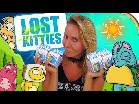 LOST KITTIES Unboxing deutsch Süße Katzen Sammelfiguren Serie 1