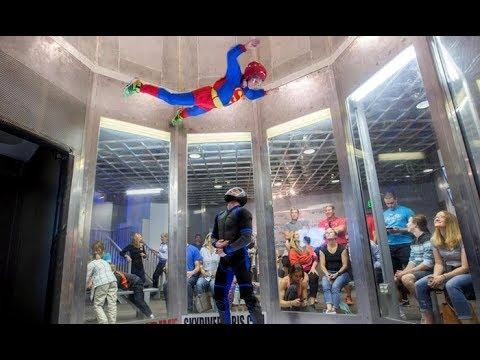 Incredible Indoor Skydiving || The Best of People Are Awesome!