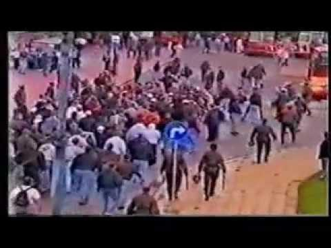 1996, Poland-Germany | German Hooligans In Poland, 96' Zabrze